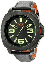 HUGO BOSS BOSS Orange Men's 1513163 Sao Paulo Analog Display Japanese Quartz Black Watch