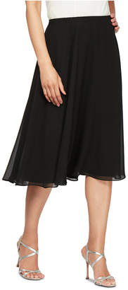Alex Evenings Chiffon Midi Skirt