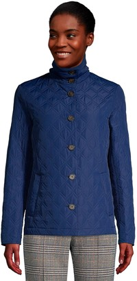 Lands' End Women's Packable Insulated Quilted Barn Jacket
