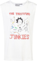 Enfants Riches Deprimes The Trust-Fund Junkies tank top