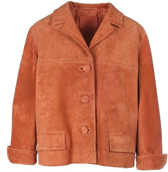 Prada Suede Leather Blazer