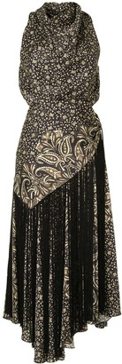 Jonathan Simkhai Paisley Sleeveless Dress