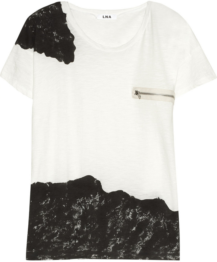 LnA Muse printed cotton T-shirt