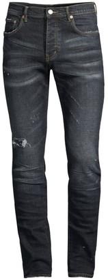 Purple Brand P001 Slim-Fit Dkindi Wash Jeans
