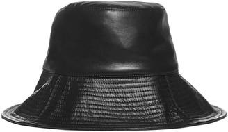Nanushka Vegan Leather Bucket Hat