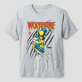 Wolverine Boys' Marvel T-Shirt - Heather Grey