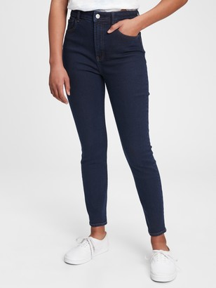 Gap Teen Sky High Rise Skinny Jeans with Stretch