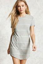 Forever 21 Striped Mini T-Shirt Dress