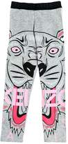 Kenzo Tiger Print Cotton Jersey Leggings