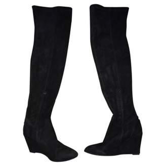IRO Black Suede Boots