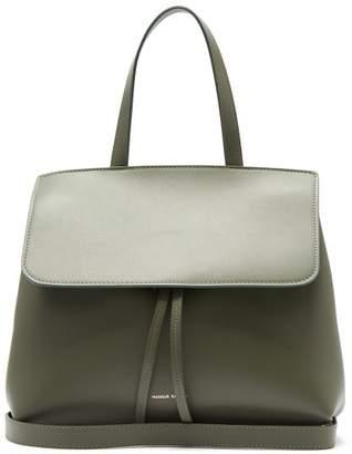 Mansur Gavriel Mini Lady Leather Cross-body Bag - Womens - Green
