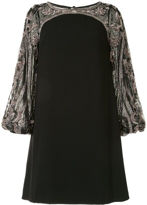 Aidan Mattox Sequin Detailed Mini Dress