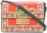 Etro floral crossbody satchel