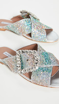 Tabitha Simmons Leni Crystal Slides