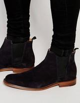 Aldo Vianello Suede Chelsea Boots