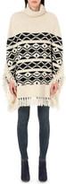 Maje Marcadet knitted poncho