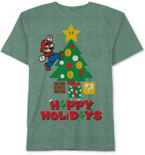 Nintendo Mario Happy Holidays T-Shirt, Big Boys (8-20)