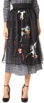 Stella Jean Midi Skirt