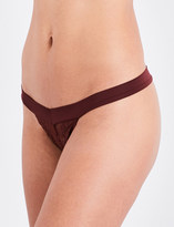 Free People Wishing Well lace thong