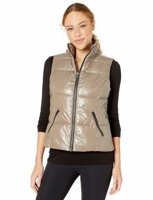 Core Products Amazon Brand - Core 10 Women's Icon Series 'Liquid Shine' Insulated Puffer Vest