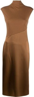 Theory Panelled Midi Dress