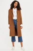 Topshop Women's Long Coat
