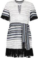 Derek Lam 10 Crosby fringed woven dress