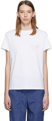 Helmut Lang White Helmut Laws T-Shirt