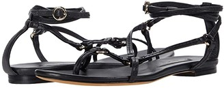 3.1 Phillip Lim Louise - Strappy Flat Sandal (Black) Women's Shoes