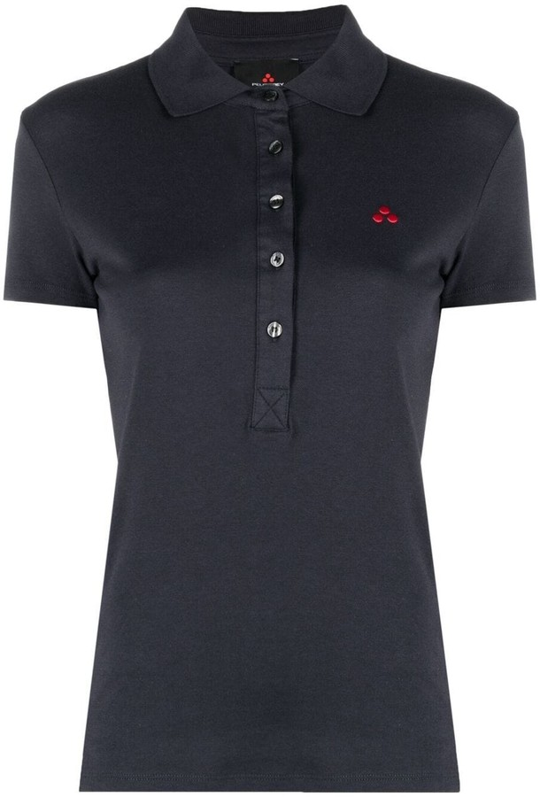 Thumbnail for your product : Peuterey Logo-Patch Short-Sleeved Polo Shirt