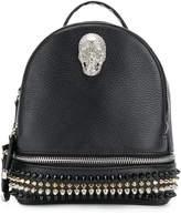 Philipp Plein studded skull detail backpack