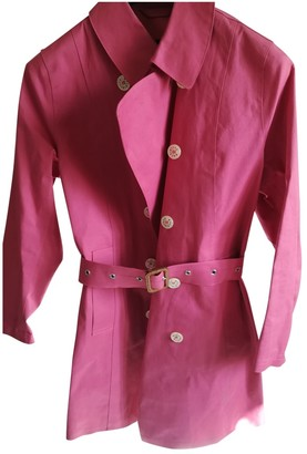 MACKINTOSH Pink Cotton Trench coats