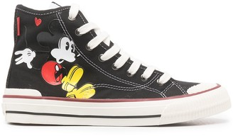 Moa Master Of Arts Mickey Mouse lace-up sneakers