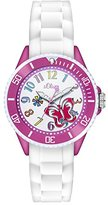 S'Oliver Girls Quartz Watch with Silicone SO - 2994–PQ