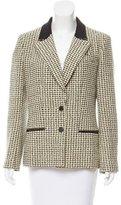 Chanel Tweed Notched-Lapel Blazer