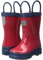 Hatley Red & Navy Rain Boots (Toddler/Little Kid)
