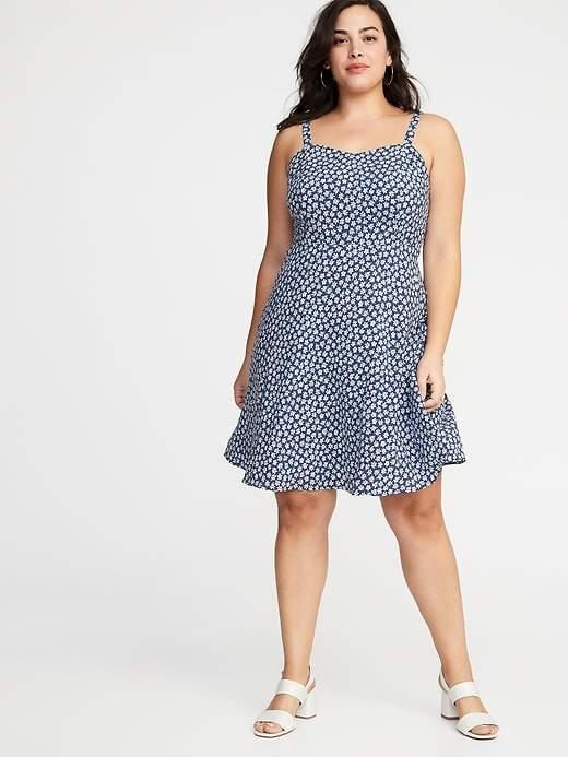 Old Navy Blue Plus Size Dresses - ShopStyle