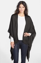 Echo Women's Fringe Trim Cape