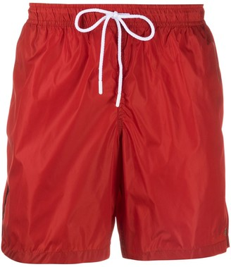 Fay Embroidered Logo Swim Shorts