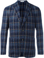 Boglioli checked blazer - men - Cotton/Linen/Flax/Nylon - 48