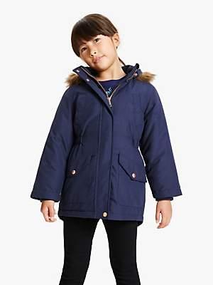 John Lewis & Partners Girls' Parka Coat
