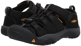 KEEN Kids Newport H2 (Little Kid/Big Kid) (Black/Keen Yellow) Kids Shoes