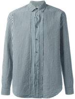 Maison Margiela slim fit gingham check shirt
