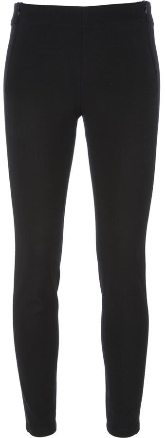 Moschino Cheap & Chic skinny zip trouser