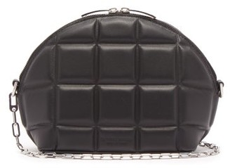 Bottega Veneta Quilted Leather Shoulder Bag - Black