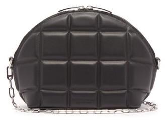 Bottega Veneta Quilted Leather Shoulder Bag - Womens - Black