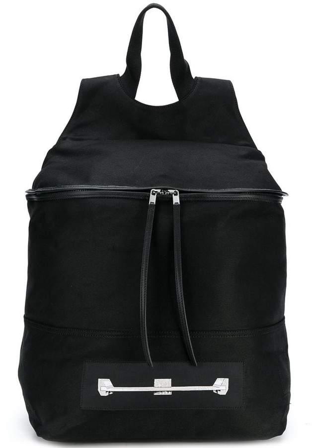 Rick Owens zip pocket backpack
