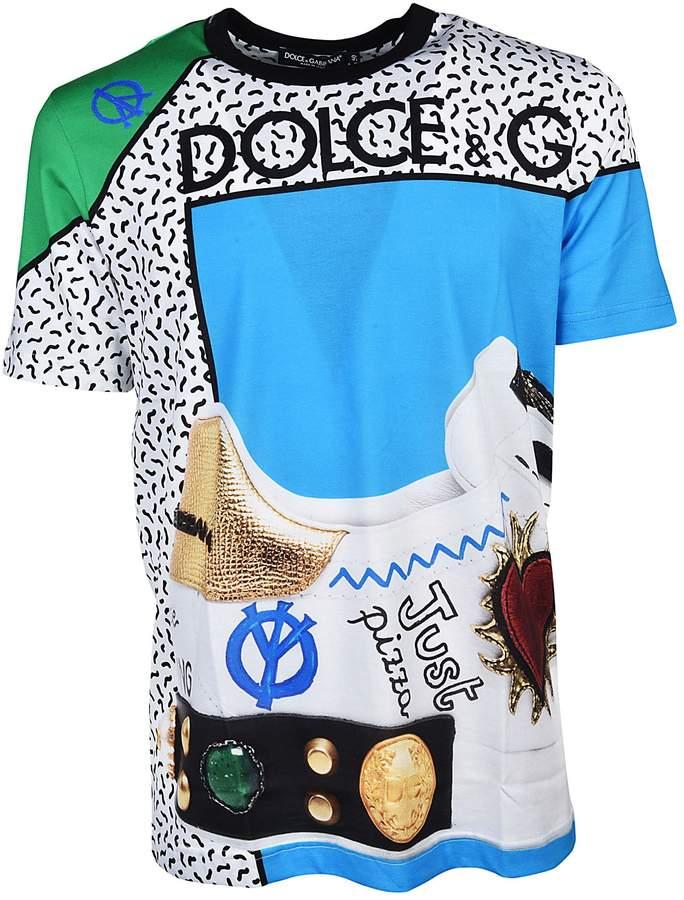 Dolce & Gabbana King Of Hearts Print T-shirt