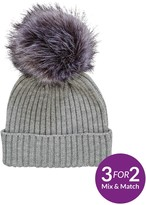 Very Changeable Pom Pom Beanie