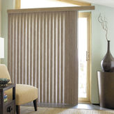 JCP HOME JCPenney HomeTM Suede-Look Vinyl Vertical Blinds